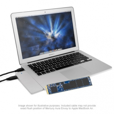 Aura Pro 6G SSD for MacBook Air 2012 250GB Kit