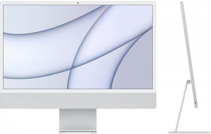 iMac 24' Retina 4.5K M1 8C CPU /7C GPU 8GB 256GB - Prateado