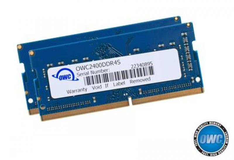 OWC - Memory 32GB Kit (2x16GB) SO-DIMM PC4-19200 2400MHz