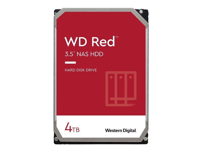 WD HDD 4TB WD RED 64mb cache SATA 6gb/s 3.5'