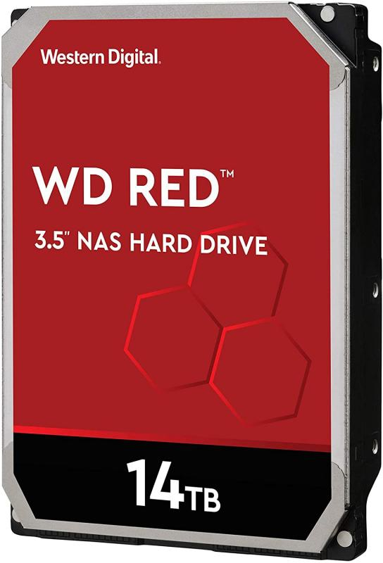 HDD 14TB WD RED 256mb cache 5400rpm SATA 6gb/s 3.5'