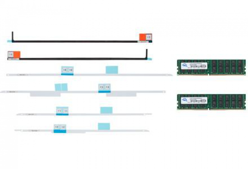 Memory 128GB Kit (2x64GB) 2666MHZ DDR4 LRDIMM PC4-21300