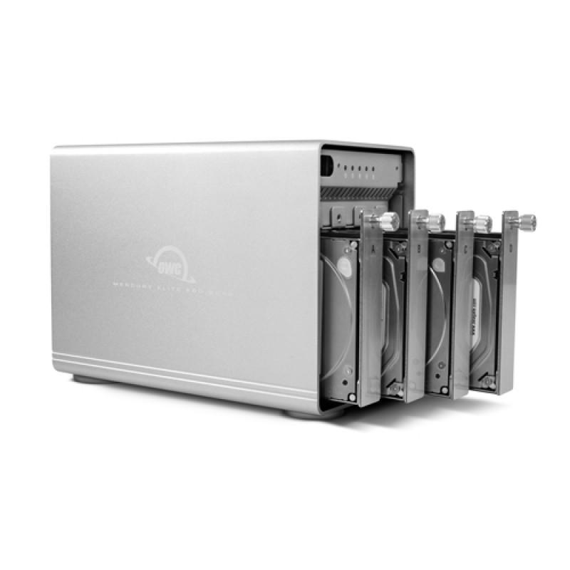 Mercury Elite Pro Quad USB-C Enclosure + SoftRAID XT