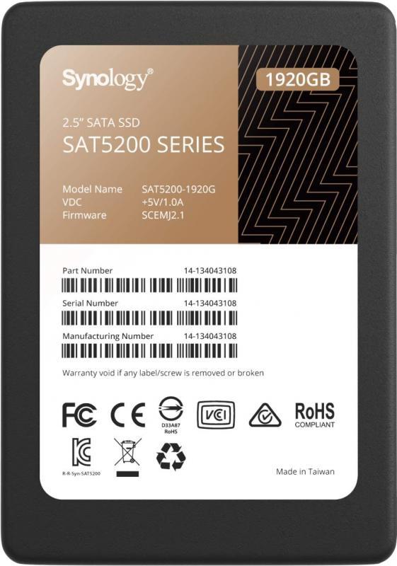 "Synology 2.5"" SATA SSD SAT5200-1920G"