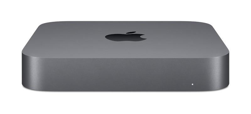 Mac mini: 3.0GHz 6-core 8th-generation Intel Core i5 processor, 512GB