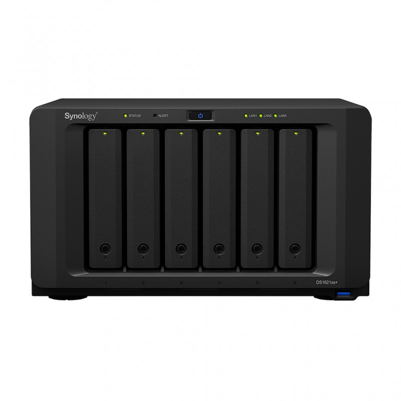 Synology Disk Station DS1621xs+  (6-bay NAS)