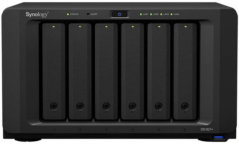 Synology Disk Station DS1621+ (6-bay NAS)