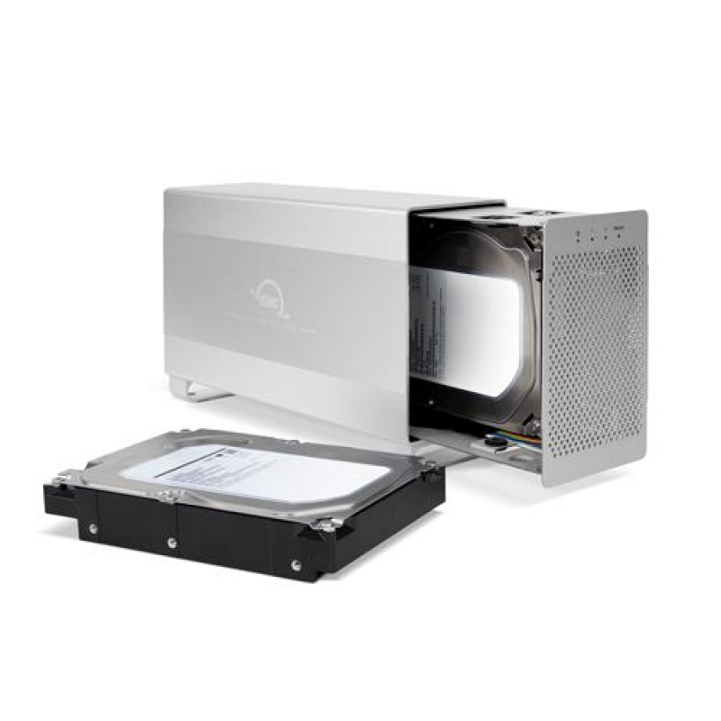 8.0TB OWC Mercury Elite Pro Dual RAID 7200RPM Storage Solution with USB 3.1 Gen 1 + FireWire 800