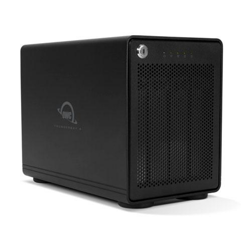OWC ThunderBay 4 TB3 72TB + SoftRAID (RAID 5)