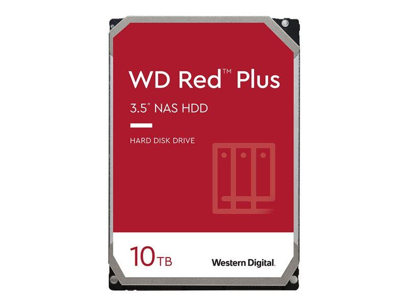 HDD 10TB WD RED Plus 256mb cache 5400rpm SATA 6gb/s 3.5'