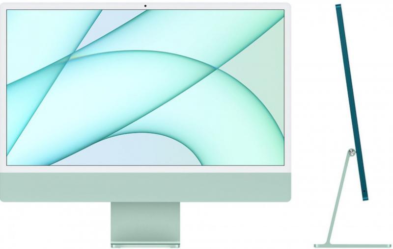 iMac 24' Retina 4.5K M1 8C CPU /7C GPU 8GB 256GB - Verde
