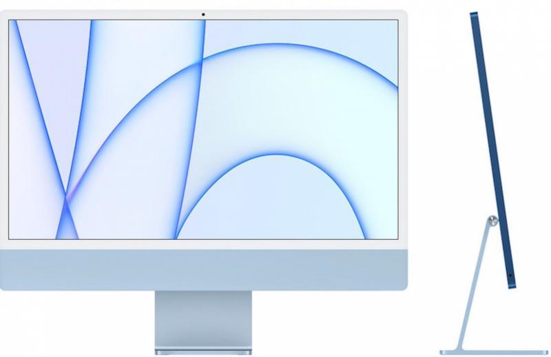 iMac 24' Retina 4.5K M1 8C CPU /7C GPU 8GB 256GB - Azul