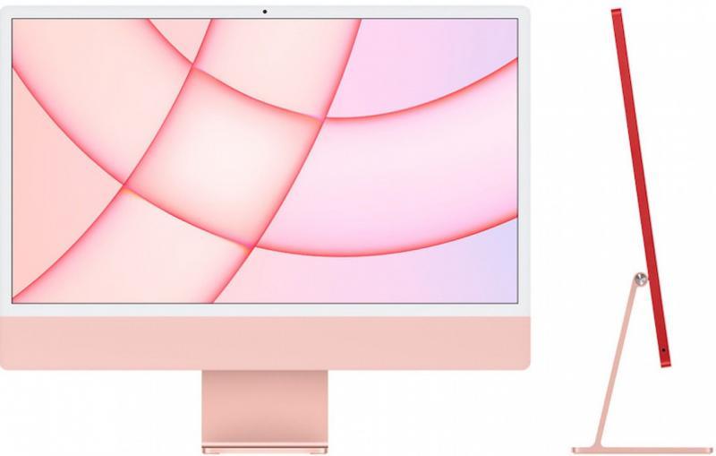 iMac 24' Retina 4.5K M1 8C CPU /7C GPU 8GB 256GB - Rosa
