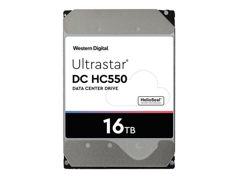 WD Ultrastar DC HC550 WUH721816ALE6L1 - disco rígido - 16 TB - SATA 6Gb/s