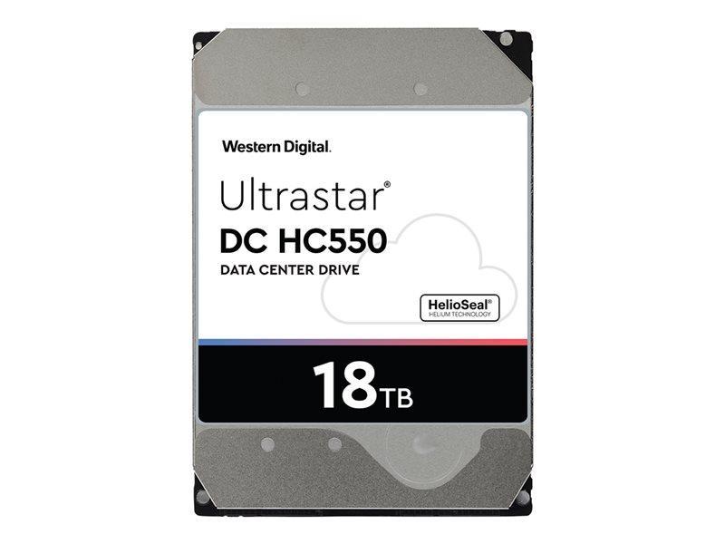 WD Ultrastar DC HC550 WUH721818ALE6L4 - disco rígido - 18 TB - SATA 6Gb/s