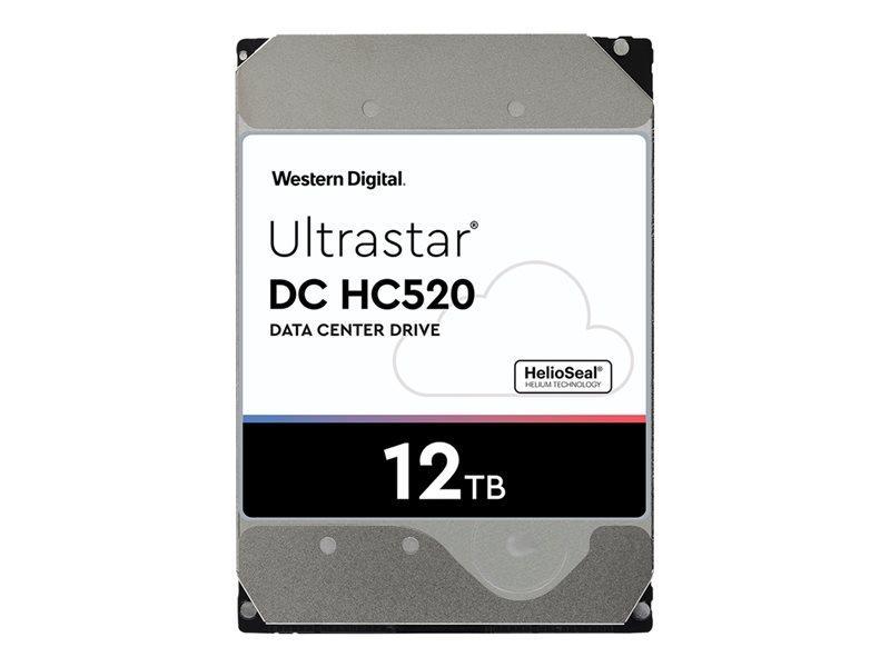 WD Ultrastar DC HC520 HUH721212ALE604 - disco rígido - 12 TB - SATA 6Gb/s