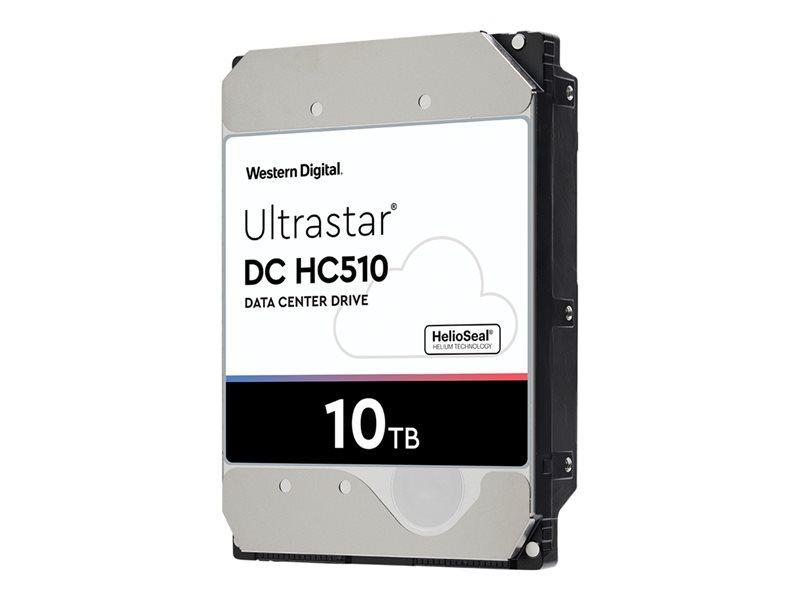 WD Ultrastar DC HC510 HUH721010ALE604 - disco rígido - 10 TB - SATA 6Gb/s