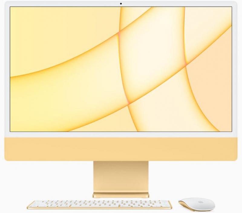 iMac 24' Retina 4.5K M1 8C CPU /8C GPU /8GB /512GB - Amarelo