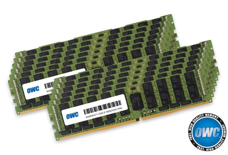 12 x 32GB PC21300 2666MHz DDR4 RDIMM for Mac Pro 2019 8-Core