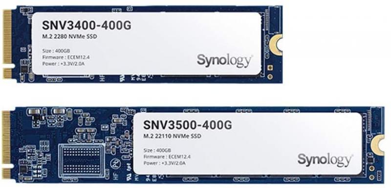 Synology M.2 NVMe SSD SNV3400 - 800GB