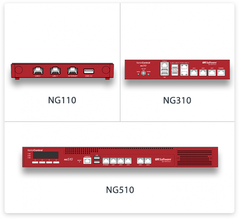 GFI Unlimited - NG110 Hardware Appliance