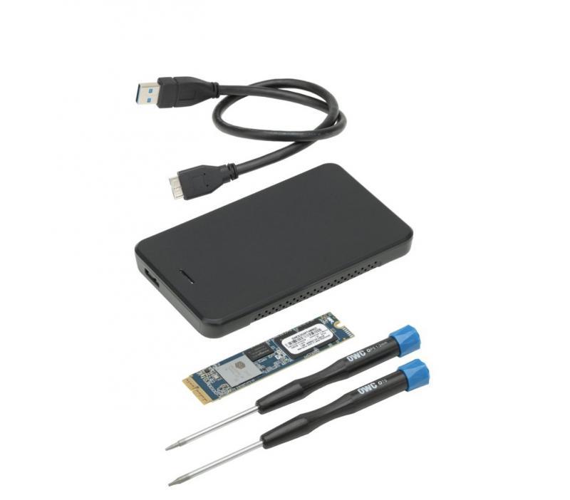 Aura Pro X2 SSD MacBook Air/Pro Mid-2013 till 2017 480GB Kit