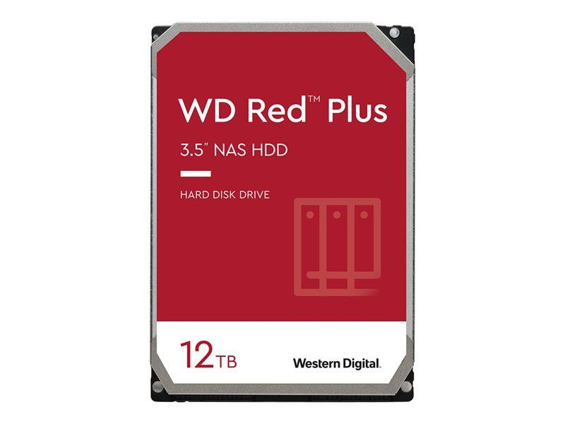 HDD 12TB WD RED Plus 256mb cache 7200rpm SATA 6gb/s 3.5'