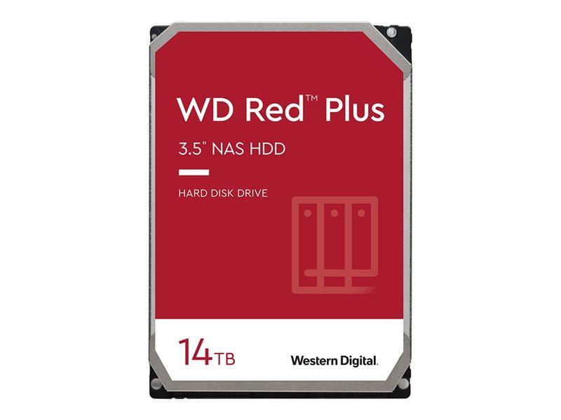 HDD 14TB WD RED Plus 256mb cache 7200rpm SATA 6gb/s 3.5'