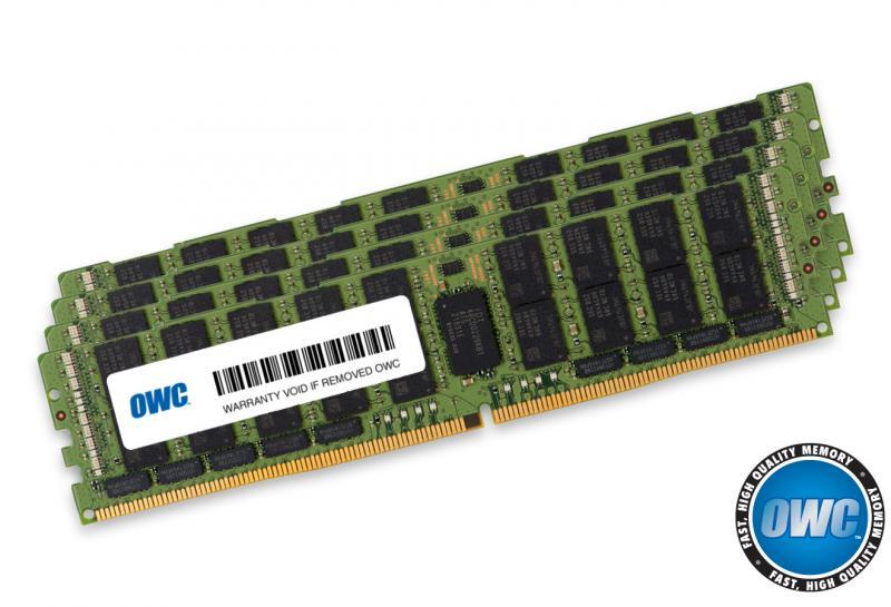 4 x 64.0GB PC23400 2933MHz DDR4 RDIMM for Mac Pro 2019 models