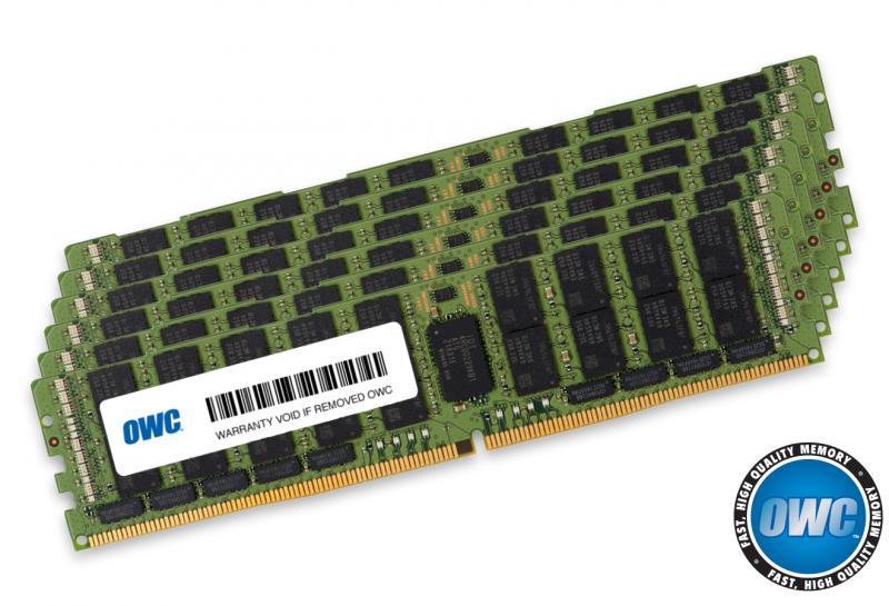 6 x 64.0GB PC23400 2933MHz DDR4 RDIMM for Mac Pro 2019 models