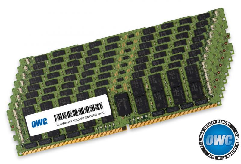8 x 64.0GB PC23400 2933MHz DDR4 RDIMM for Mac Pro 2019 models