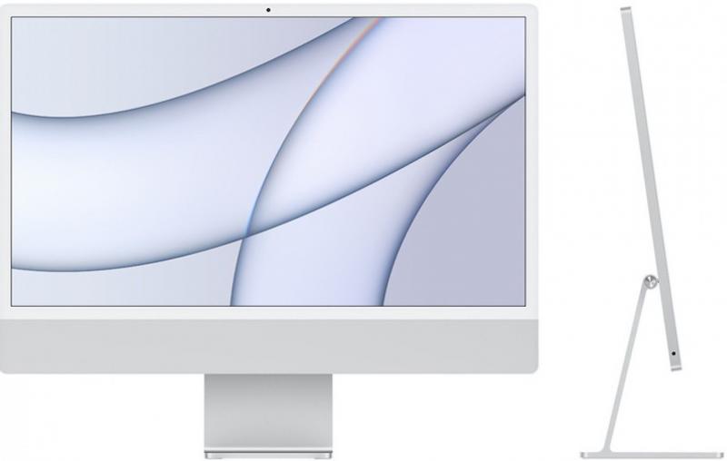iMac 24' Retina 4.5K M1 8C CPU /8C GPU com 16 GB memória e 1 TB SSD de fábrica - Prateado